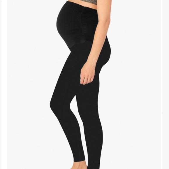 5a19174236d0f4 Beyond the Bump Pants   Bundle Beyond Yoga Maternity Leggings   Poshmark